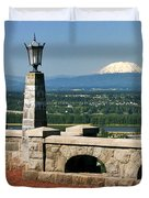 North Of Portland Duvet Cover