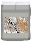 North Pond Prairie Grass Duvet Cover