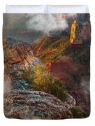 North Rim Of The Grand Canyon Duvet Cover