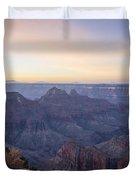North Rim Sunrise 2 - Grand Canyon National Park - Arizona Duvet Cover