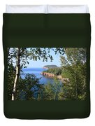 North Shore Lake Superior Duvet Cover