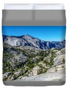 North Side Of Half Dome Valley Duvet Cover