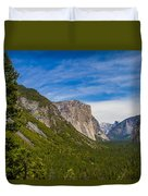North Side Of South Valley Of Half Dome Duvet Cover