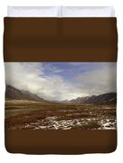 North Slope Dalton Highway Arctic Alaska Duvet Cover