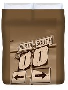 North South 1 Duvet Cover