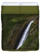 North Table Mountain Falls Duvet Cover