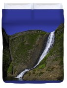 North Table Mountain Spring Falls Duvet Cover