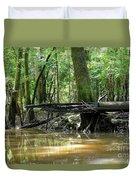 North West Florida Swamp Duvet Cover