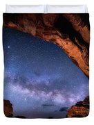 North Window Milky Way Duvet Cover
