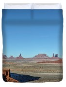North Window View Duvet Cover