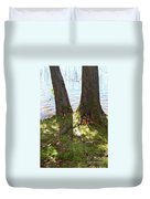 North Woods Lake One Duvet Cover