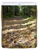 North Woods Path Duvet Cover