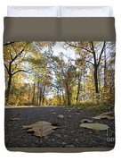 North Woods Road Two Duvet Cover