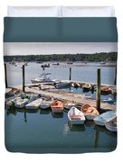 Northeast Harbor Maine Duvet Cover