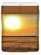 Northern California Sunrise Duvet Cover