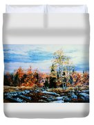 Northern Gold Duvet Cover
