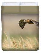 Northern Harrier Hawk Skimming The Fields Duvet Cover
