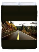 Northern Highway Yukon Duvet Cover