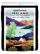 Northern Ireland, Scenery, Tours And Excursions Duvet Cover