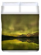 Northern Light Beams Duvet Cover