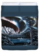 Northern Lights Aurora Borealis Duvet Cover
