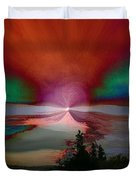 Northern Lights Duvet Cover