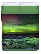 Northern Lights Pendells Creek -7824 Duvet Cover