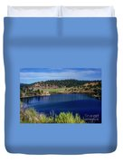 Northern New Mexico Lake Duvet Cover