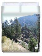 Northern Rockies Missoula  Montana  Duvet Cover