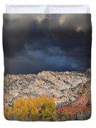 Northern Uintas Autumn Duvet Cover