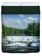 Northern Waterfall Duvet Cover