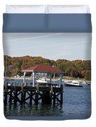 Northport Harbor Duvet Cover