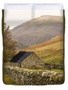 Northumberland, England Stone House Duvet Cover