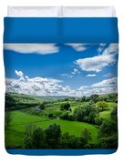 Northumberland Landscape Duvet Cover