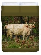 Northumberland Wild Cattle Duvet Cover