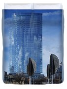 Northwestern Mutual Tower - Milwaukee Wisconsin 2017 Duvet Cover