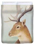 Norway Deer Duvet Cover