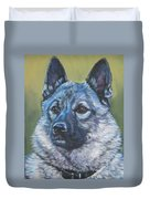 Norwegian Elkhound Duvet Cover