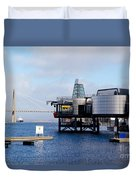 Norwegian Petroleum Museum Duvet Cover