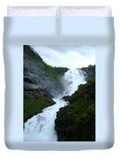 Norwegian Waterfall Duvet Cover
