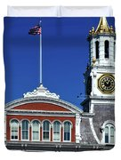 Norwich City Hall Duvet Cover