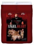 Norwich Terrier Art Canvas Print - Angel Heart Movie Poster Duvet Cover