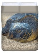 Nose In The Sand Duvet Cover
