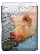 Not A Piglet Anymore Duvet Cover