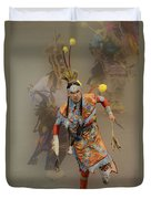 Pow Wow Not Alone Duvet Cover