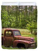 Not Forgotten Duvet Cover by Debra and Dave Vanderlaan