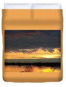 Not Just Another Sunrise Duvet Cover