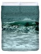 Not Now, Wave Duvet Cover