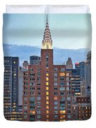 Not The Chrysler Building Nyc Duvet Cover