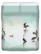Nothing But Blue Skies Duvet Cover